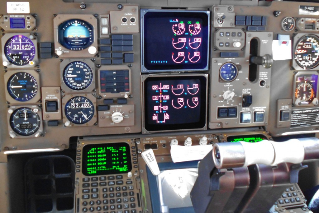 Pilotenkanzel Flugzeug