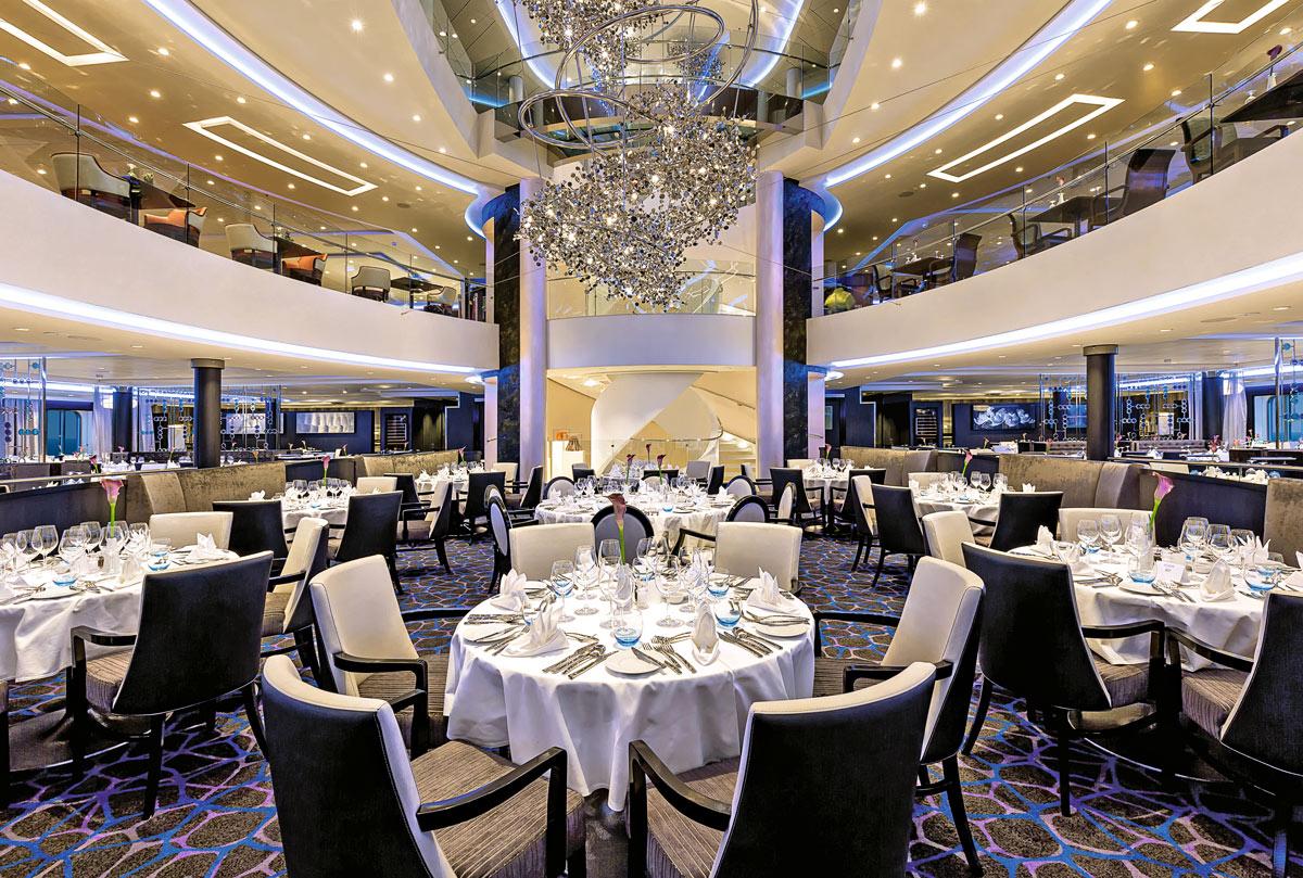 Mein Schiff 4 Bars und Restaurants