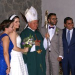 Puebla, Mexiko, Hochzeitspaar, Hochzeitsbild