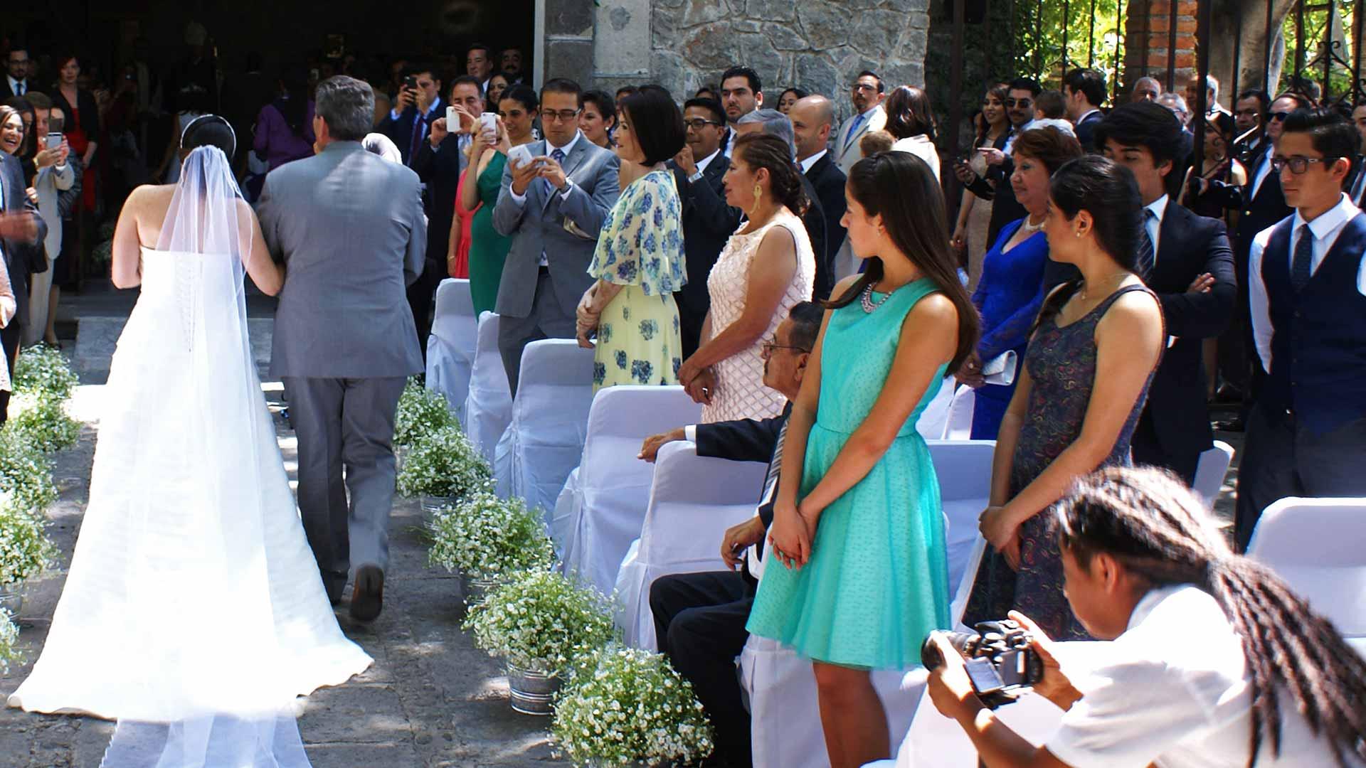 Hochzeitspaar Puebla, Mexiko