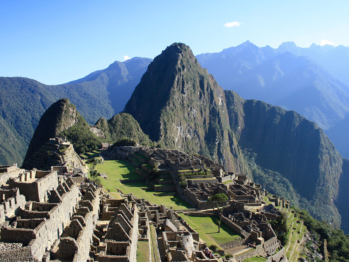 Machu Picchu Peru, Südamerika