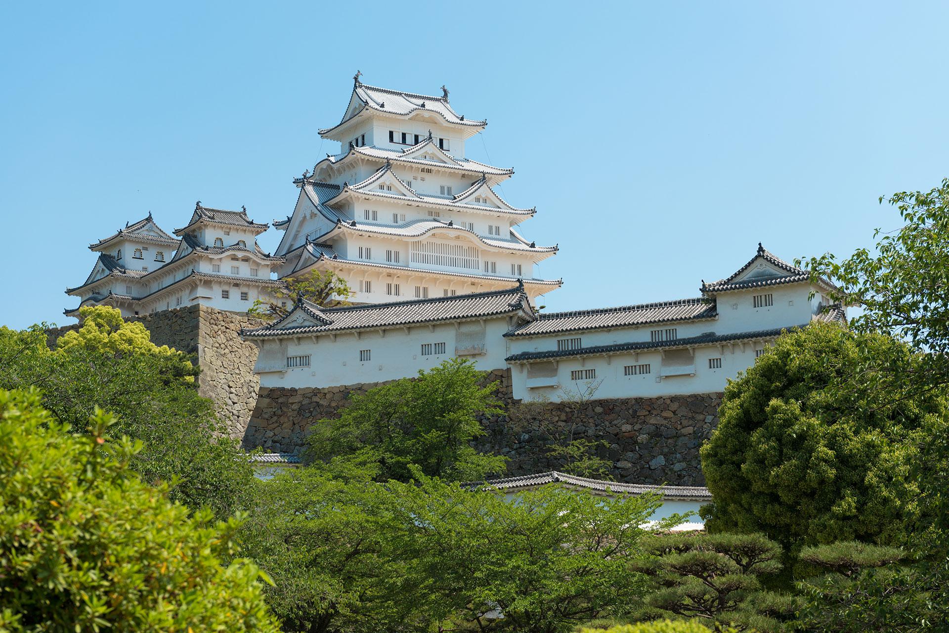Himeji Castle (Weißer Reiher Burg)