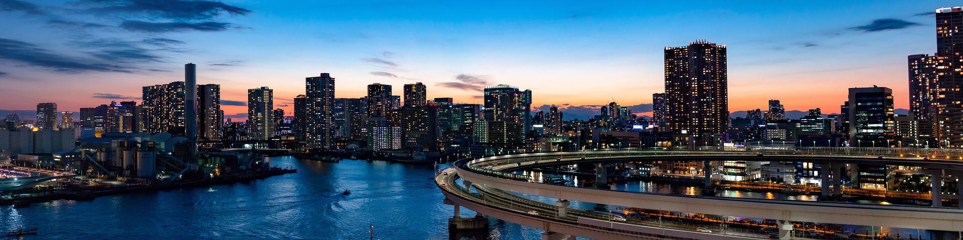 Tokio Stadtansicht