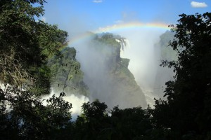 Victoriafälle Regenbogen