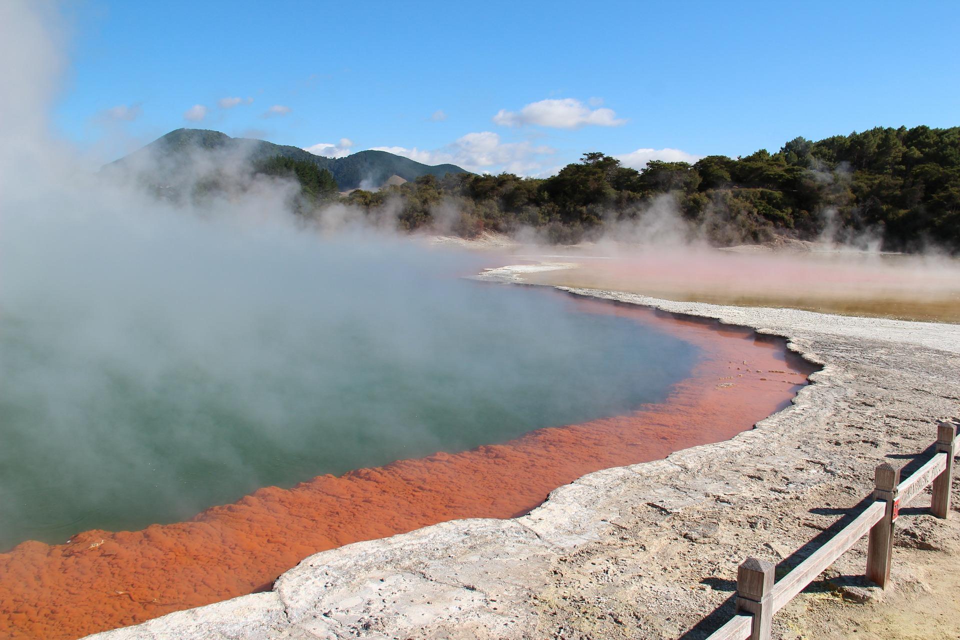 Neuseeland Vulkane