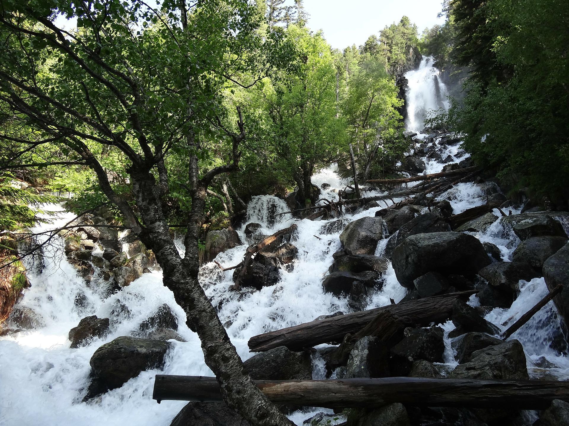 Aigüestortes Wasserfall