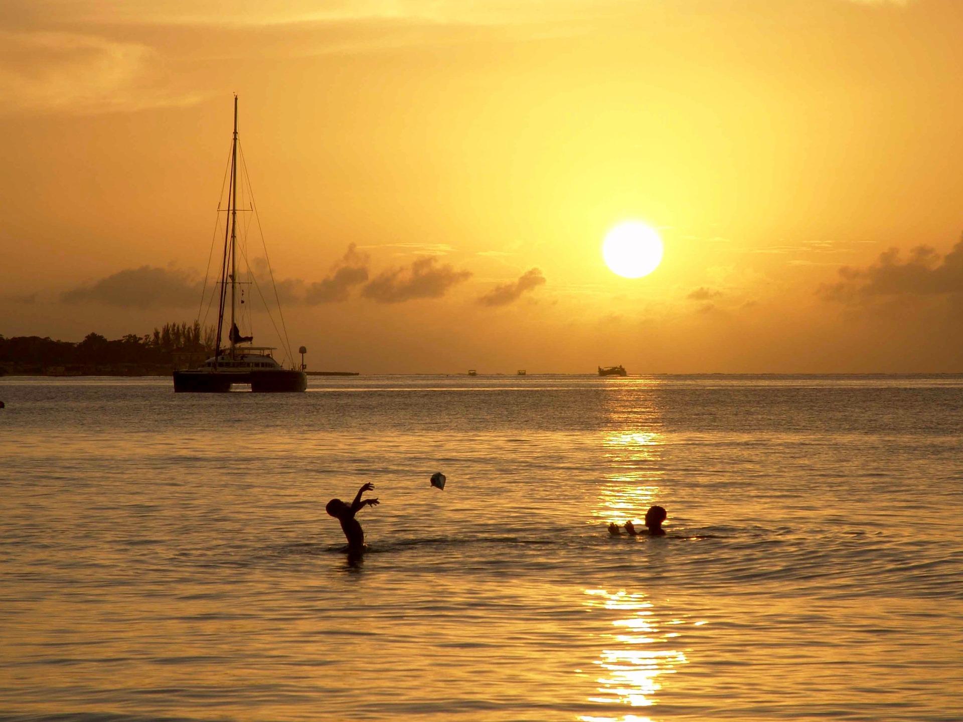 Sonnenuntergang in Jamaica