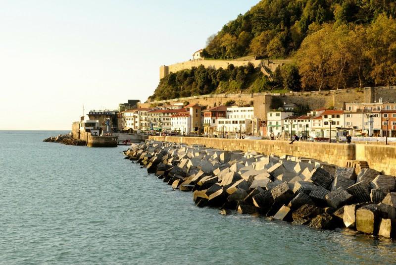 San Sebastián Hafen