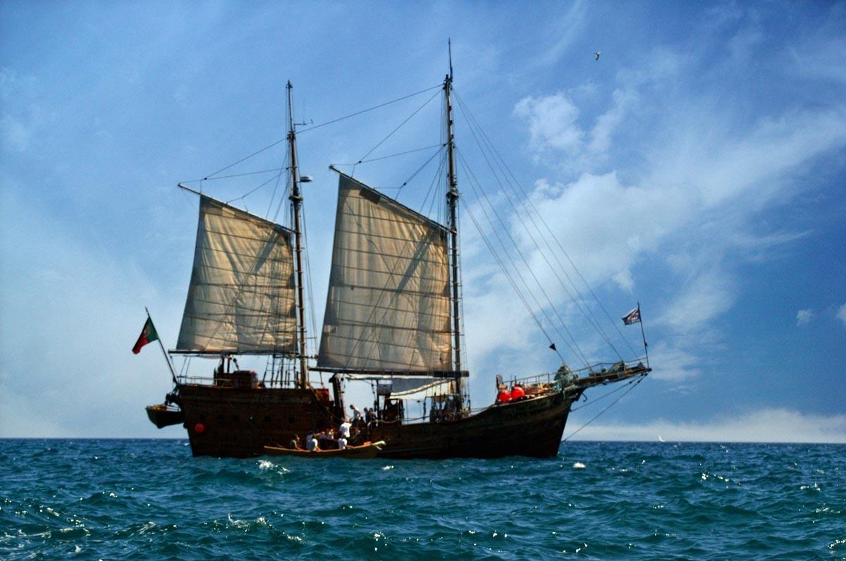 Piratenshiff Algarve Portugal