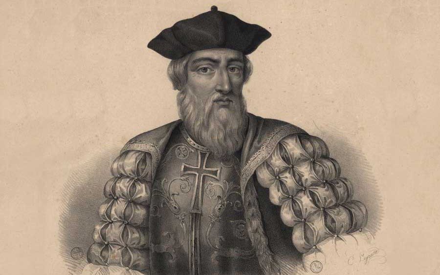 Vasco da Gama por Charles Legrand