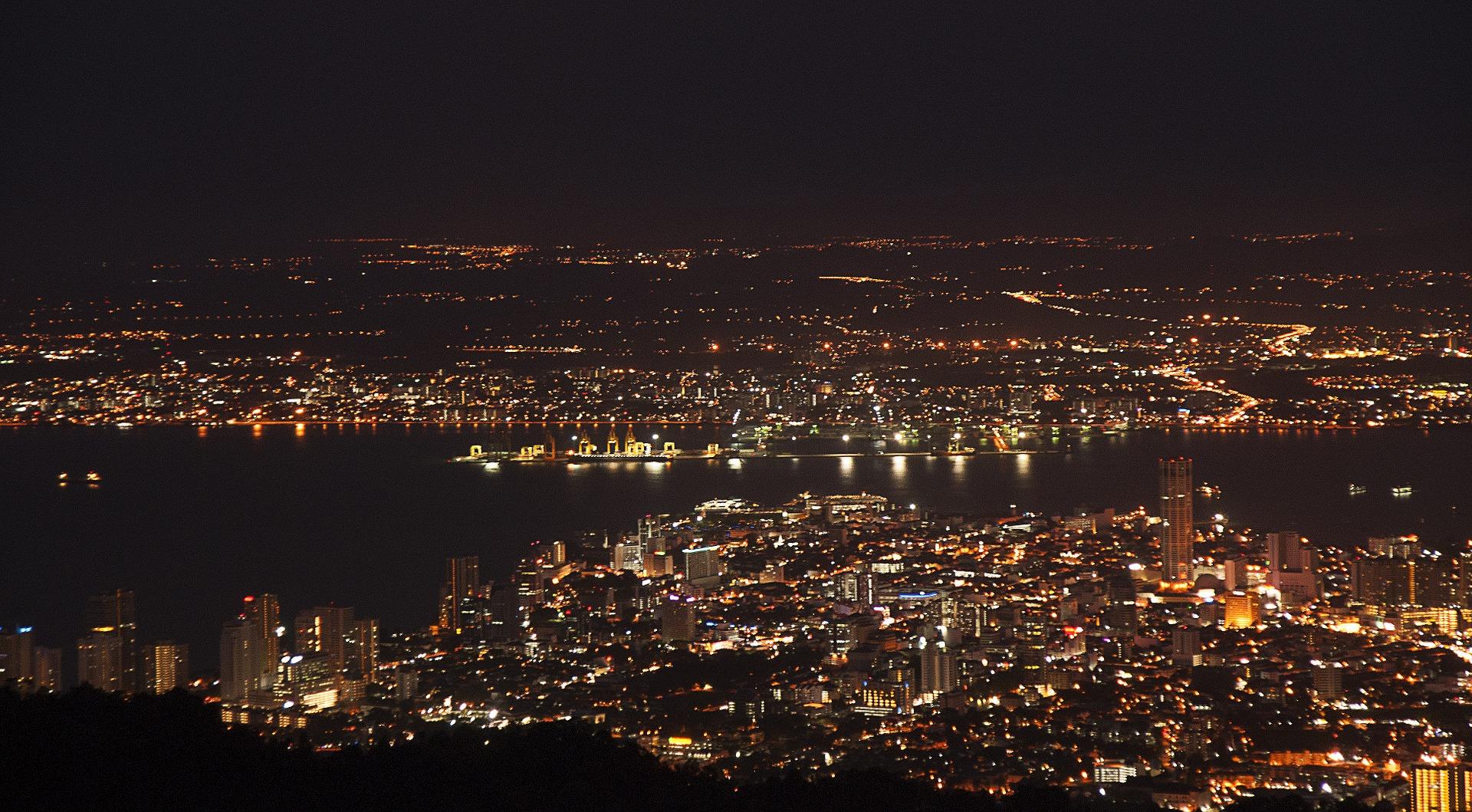 Penang bei Nacht
