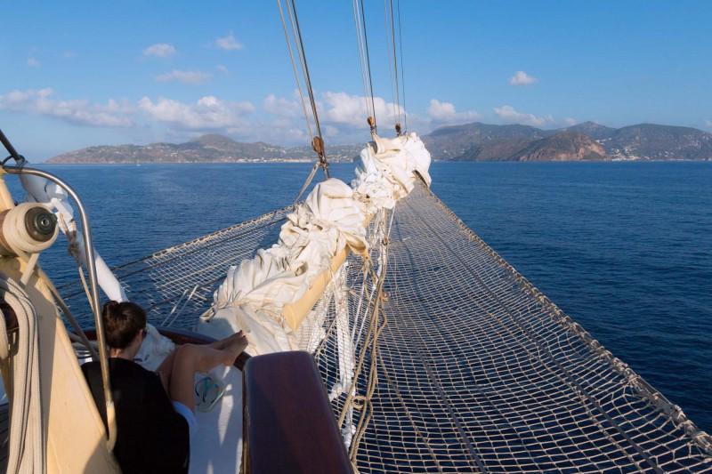 Star Flyer Törn im Mittelmeer