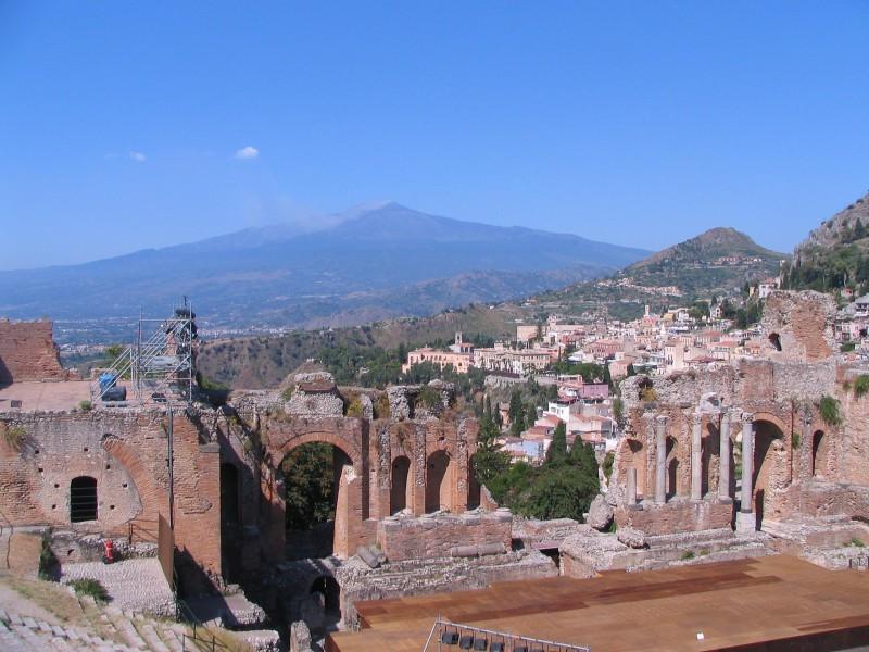 Taormina griechisches Theater