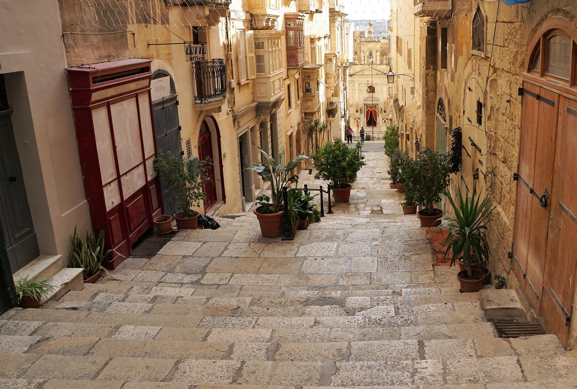 Valetta Altstadt