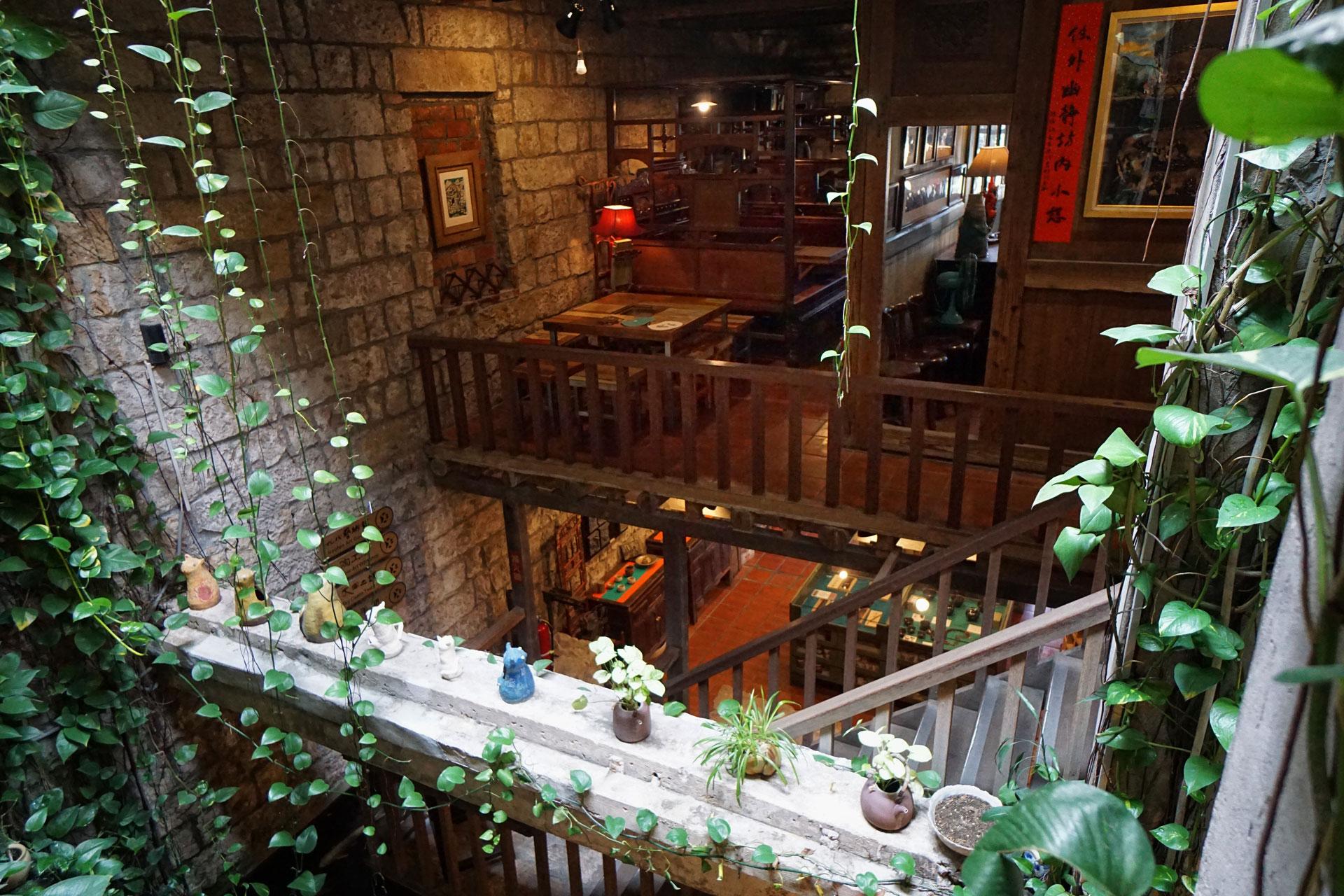 Innenbereich des Jioufen Teahouse