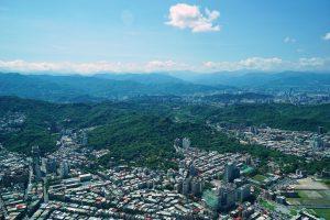 Taipei in den Bergen