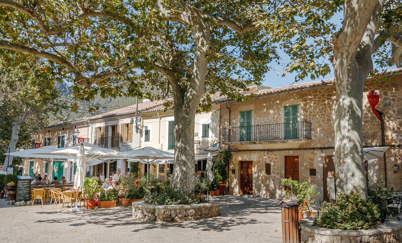 Café in Valldemosse
