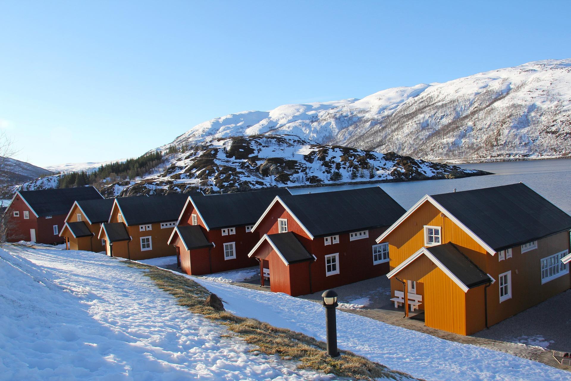 Fischerhütten in Tromsö