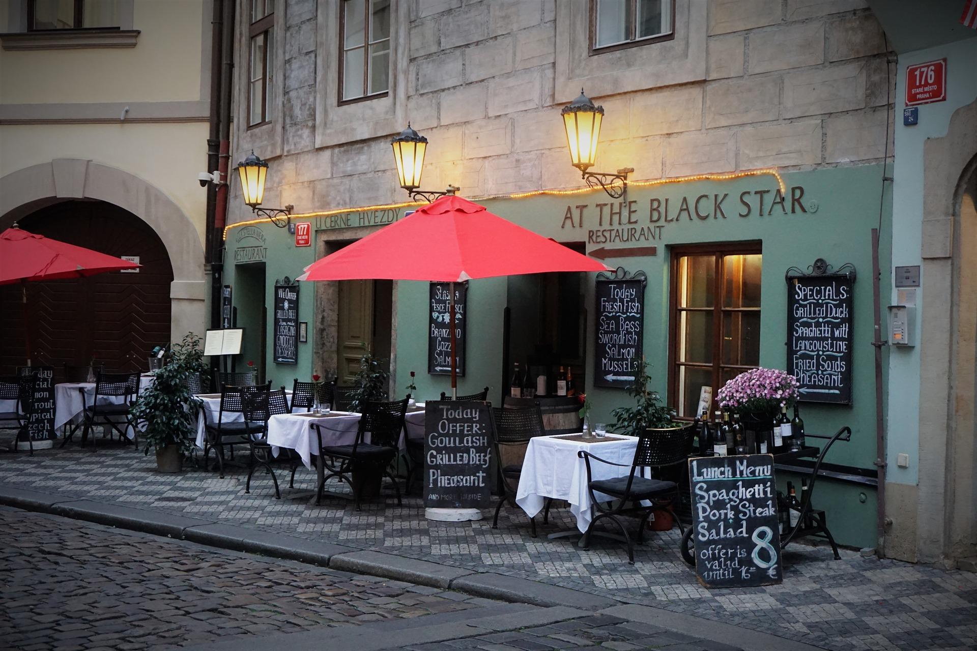 Cafe in Prag