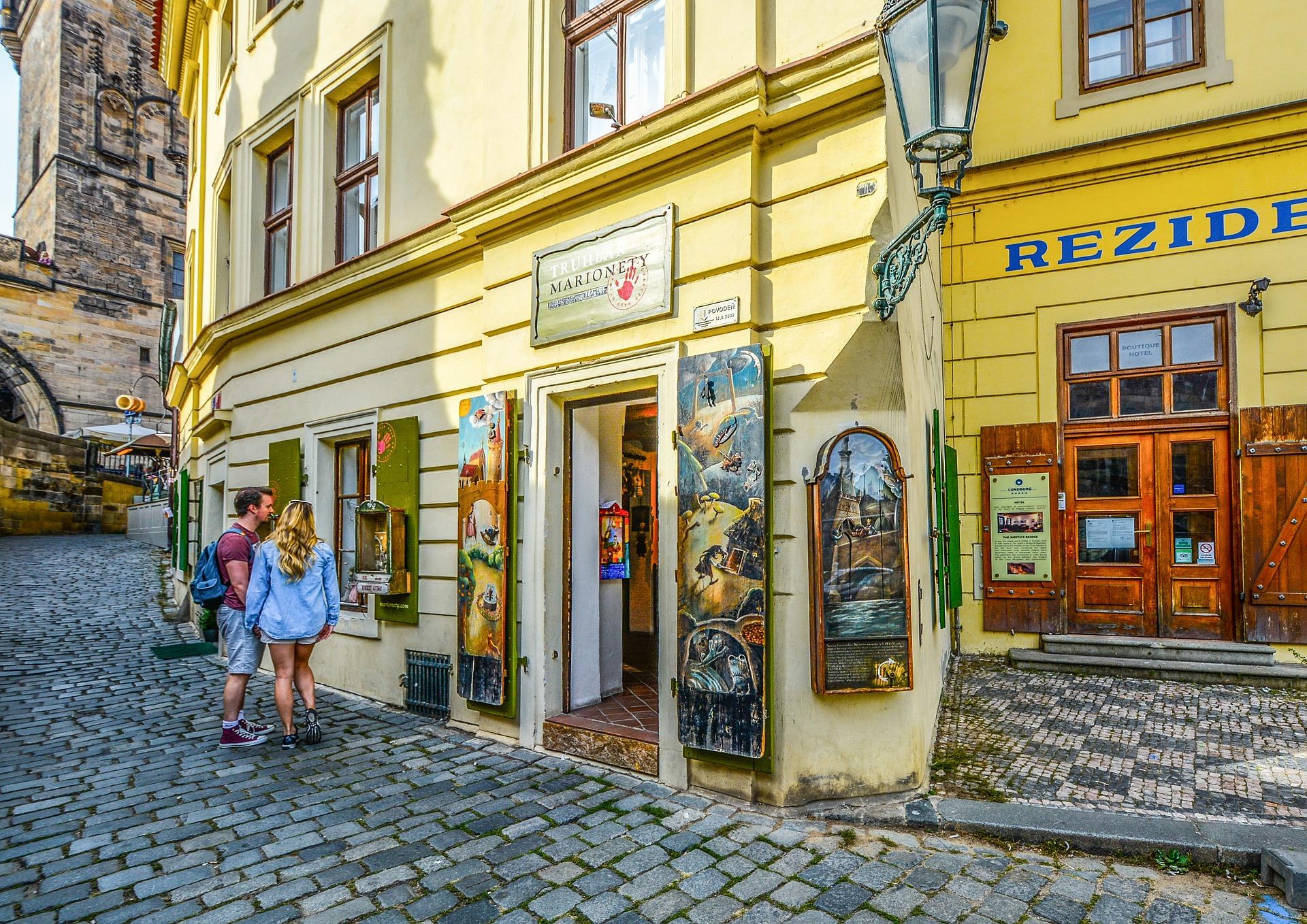 Die Straßen von Prag