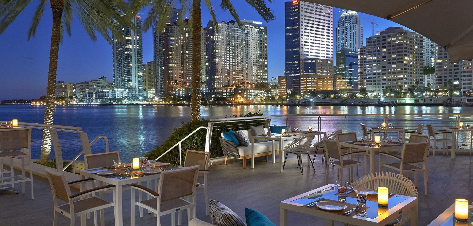 Mandarin Oriental Miami - Terrasse