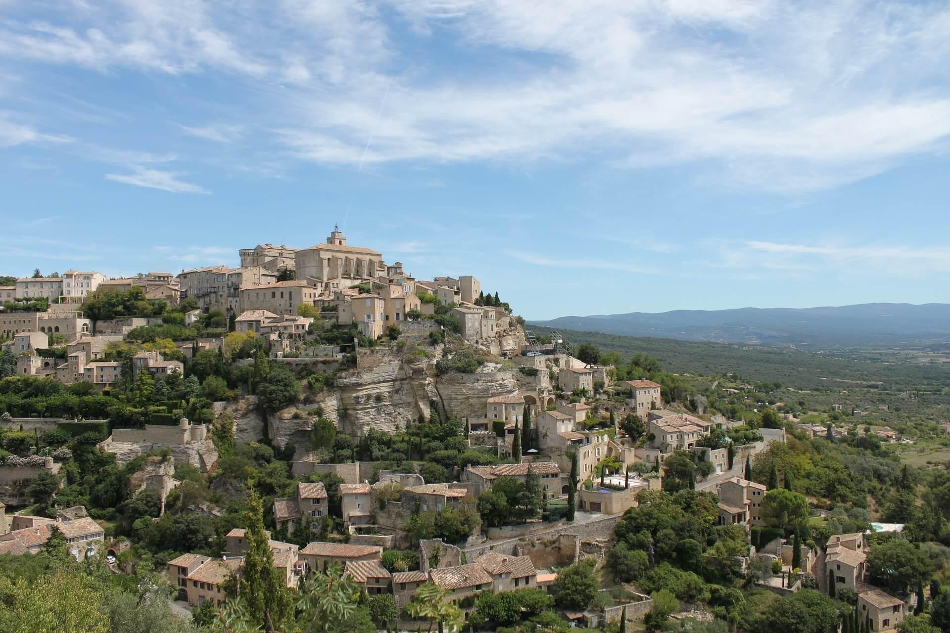Eine Reise in die Provence in Frankreich