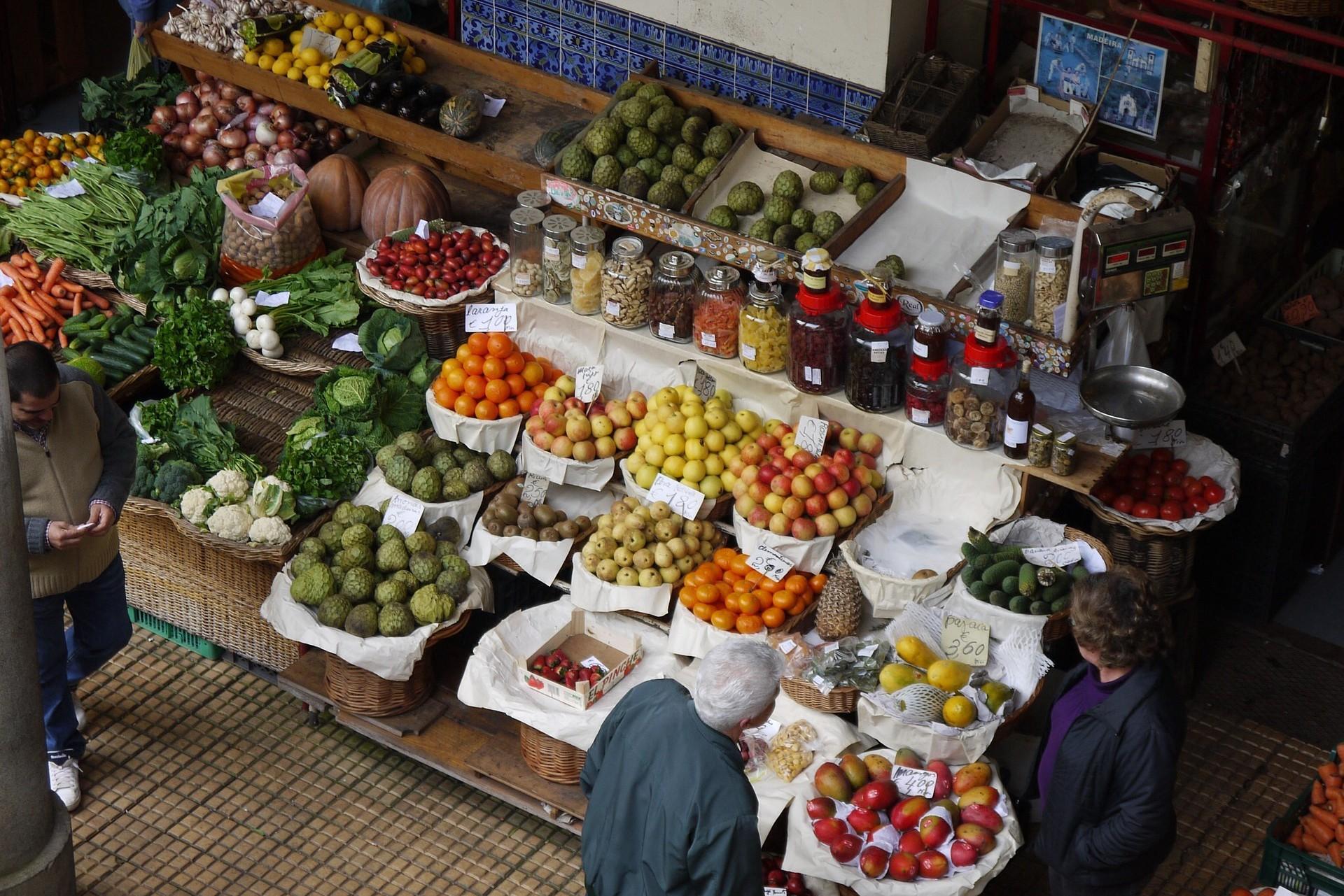 Der bunte Markt von Funchal, Madeira