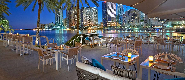 Mandarin Oriental Miami Terrasse