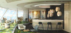 © TUI Cruises: Die Himmel & Meer Lounge