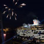 Mein Schiff 6 Taufe Feuerwerk