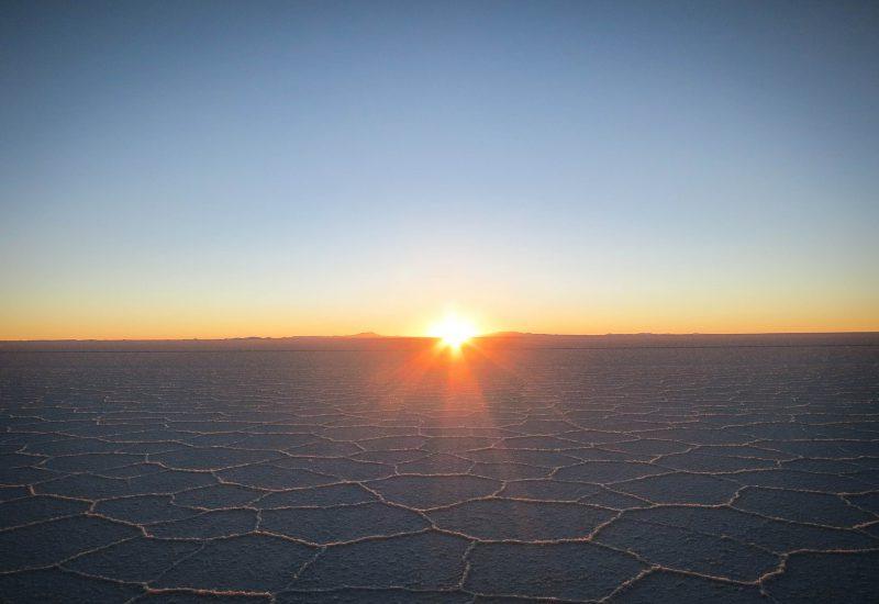 Salzwüste in Chile
