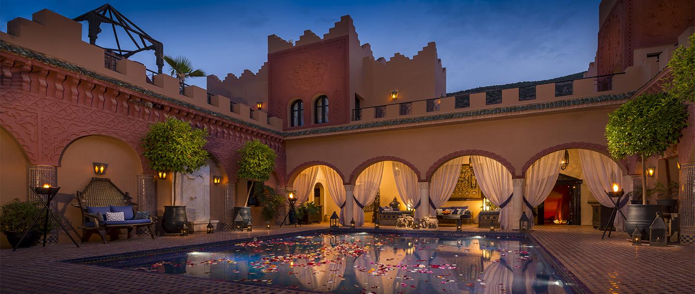 © Virgin Limited Edition: Das Kasbah Tamabot mit Blick auf den Pool