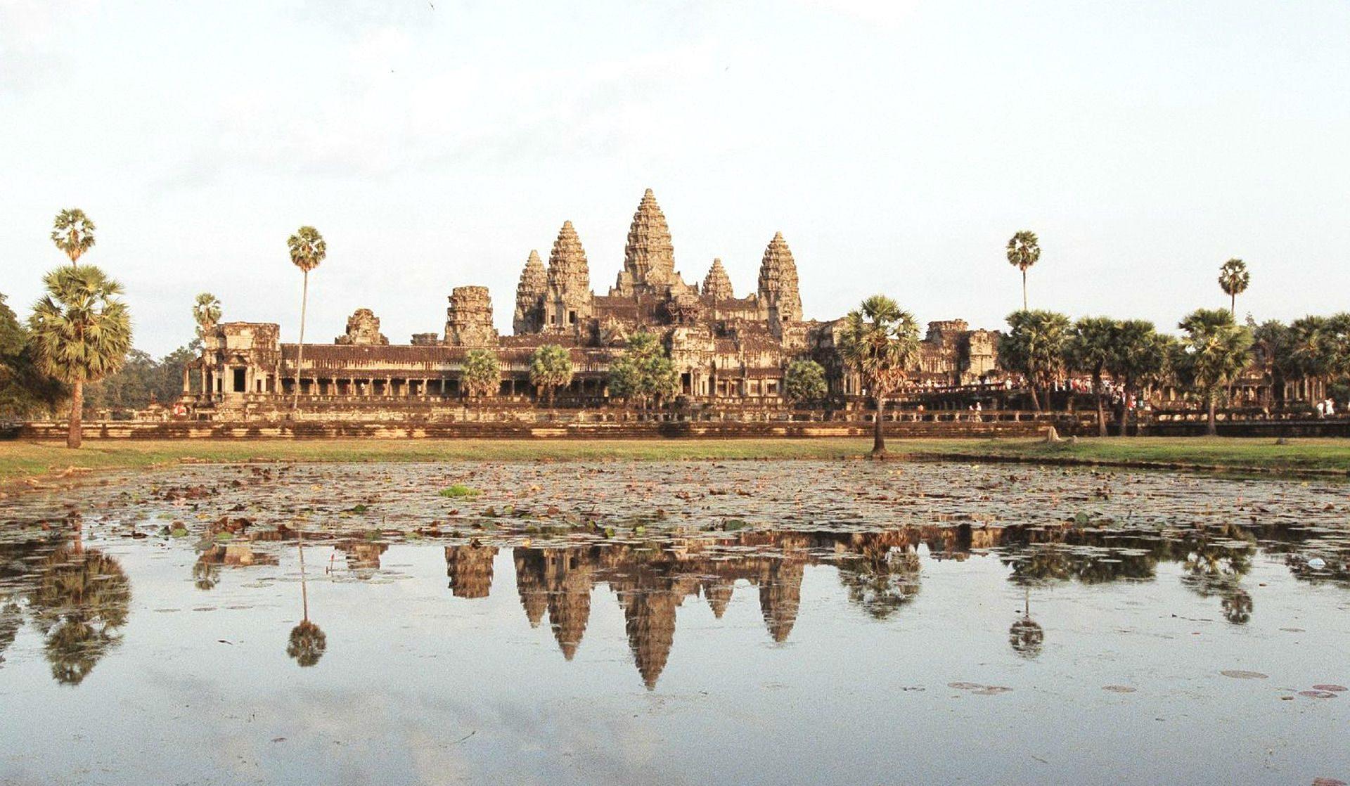 Kloster- und Tempelanlage Angkor Wat