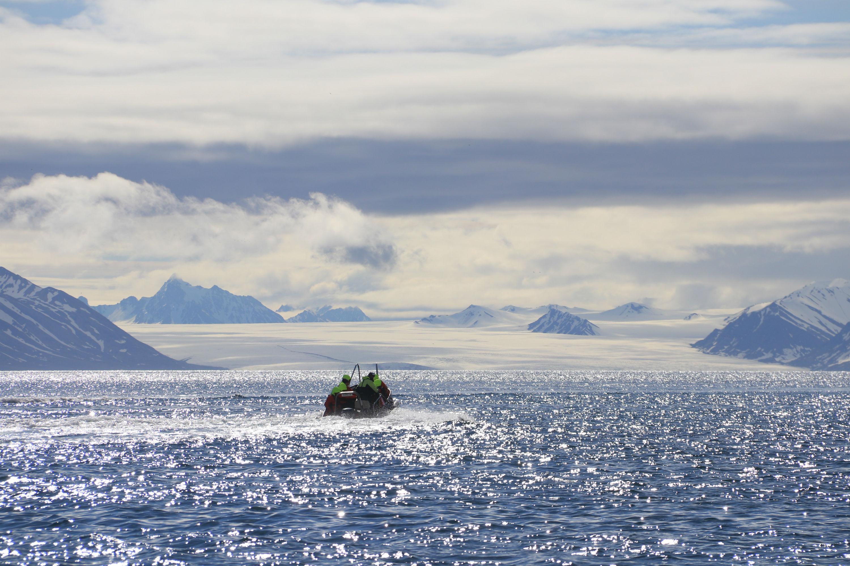 Arnau Ferrer: Ingeborgfjord Spitzbergen