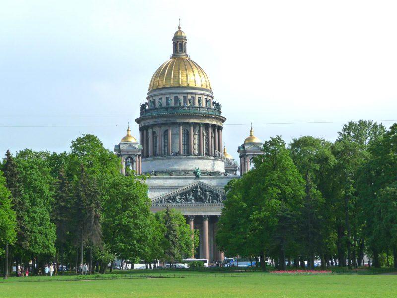 Die Isaak-Kathedrale i St. Petersburg