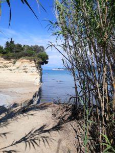 Korfu mit Blick auf das Ionische Meer