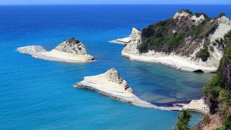 Korfu mit seinen kleinen Inseln