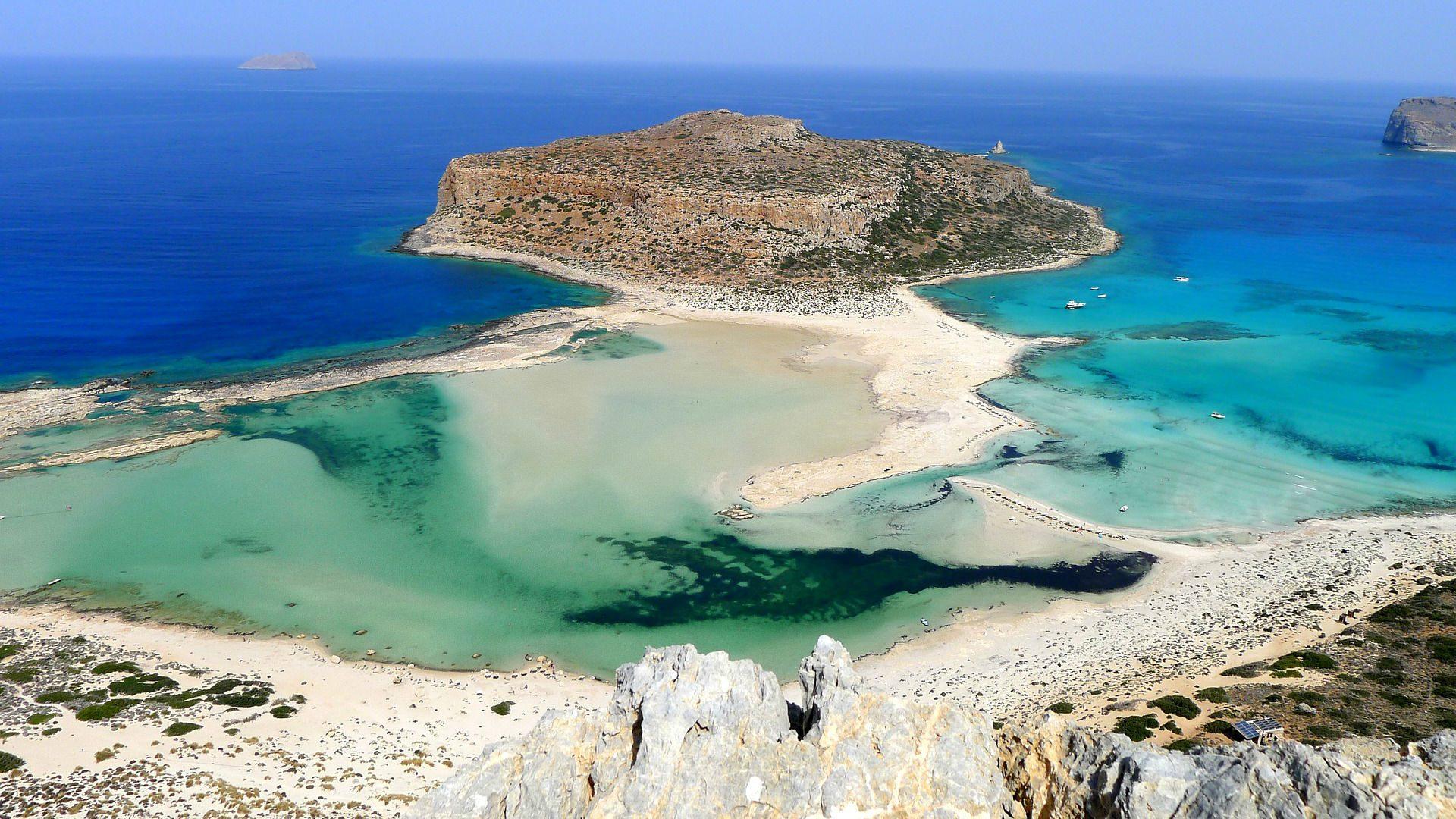 Kreta bietet viele kleine Inseln bereit