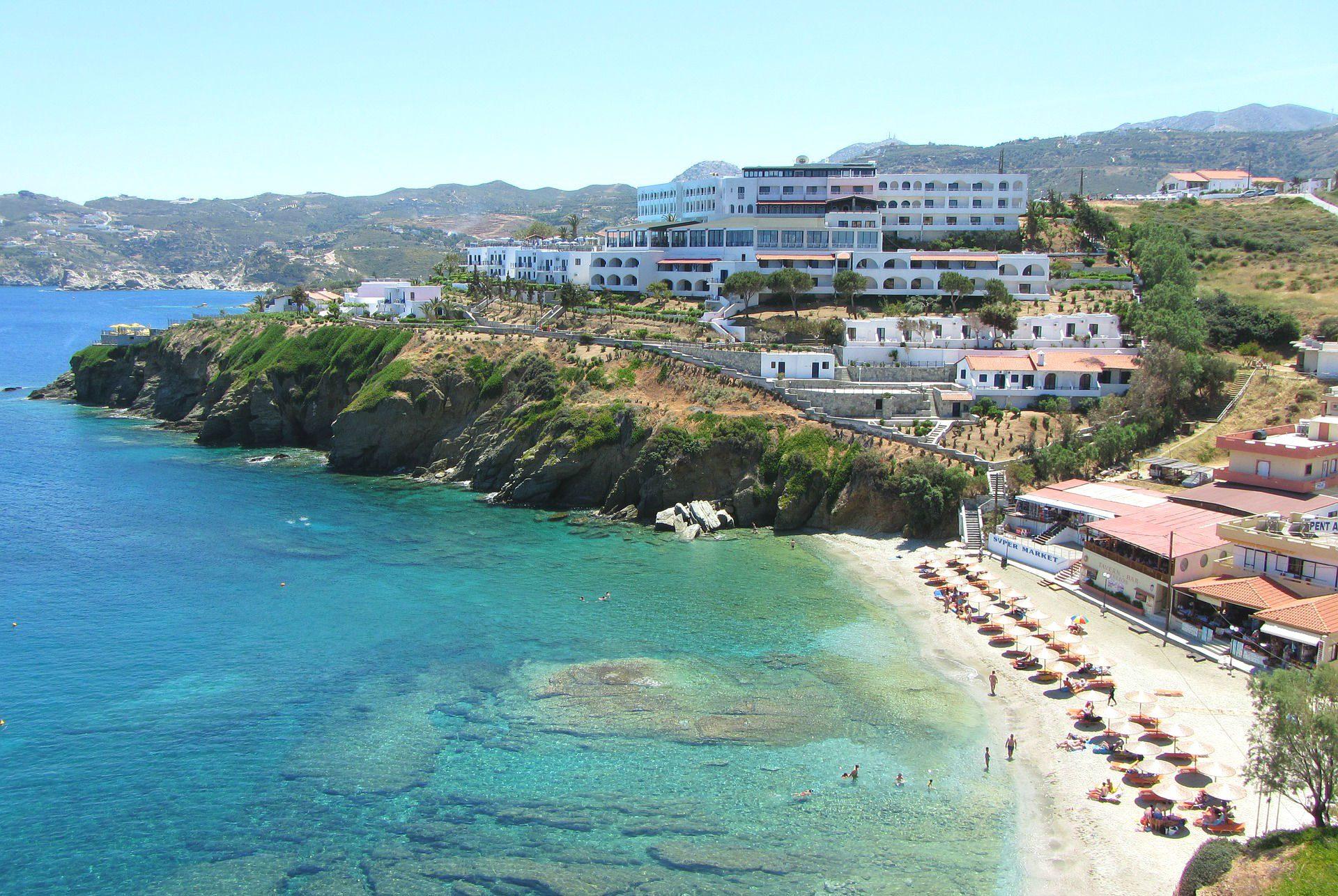 Gemütliche Städte an Kretas Küste