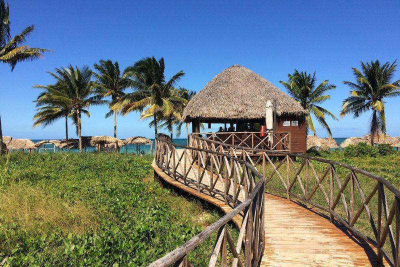 Typisch kubanische Hütten