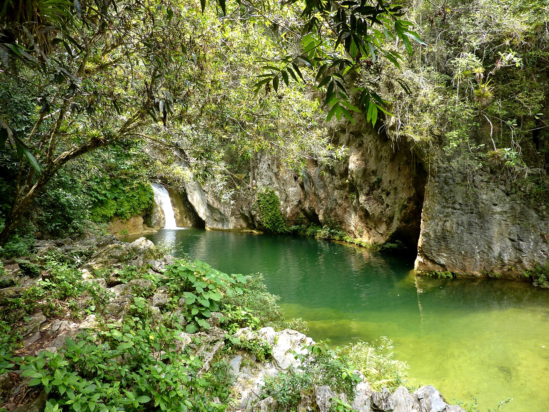 Der Nationalpark Topes de Collantes