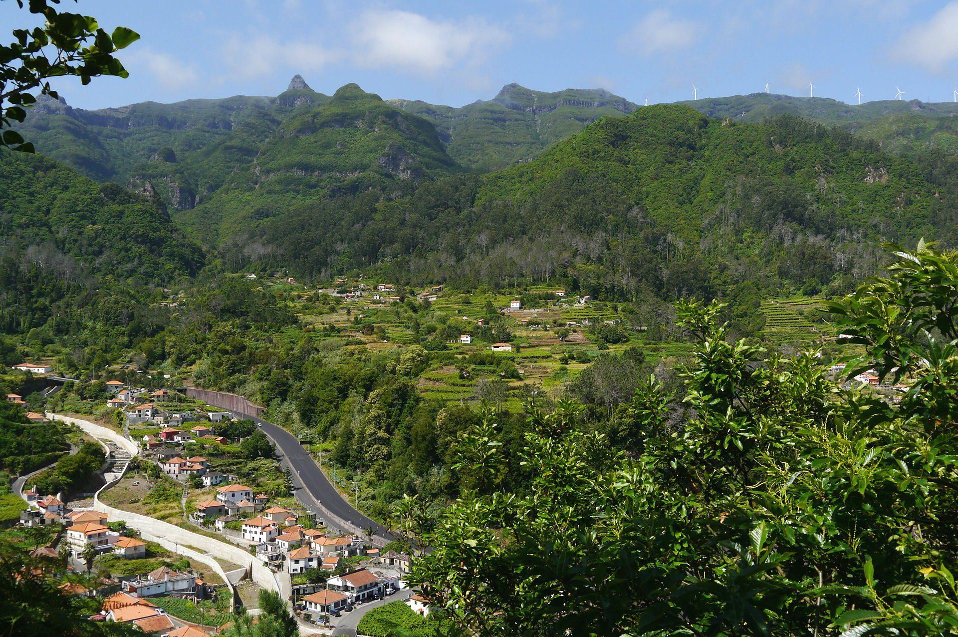 Madeiras grüne Landschaft