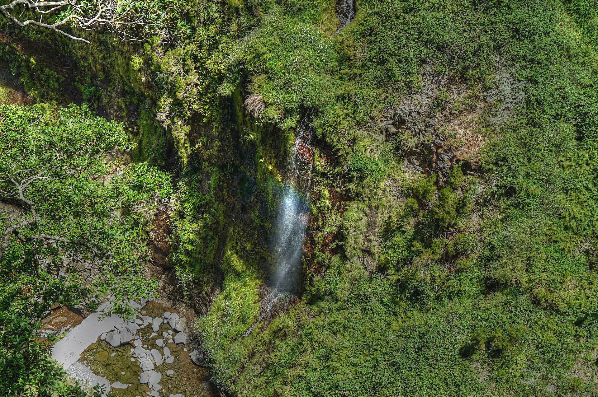 Wasserfälle sind auf Madeira keine Seltenheit