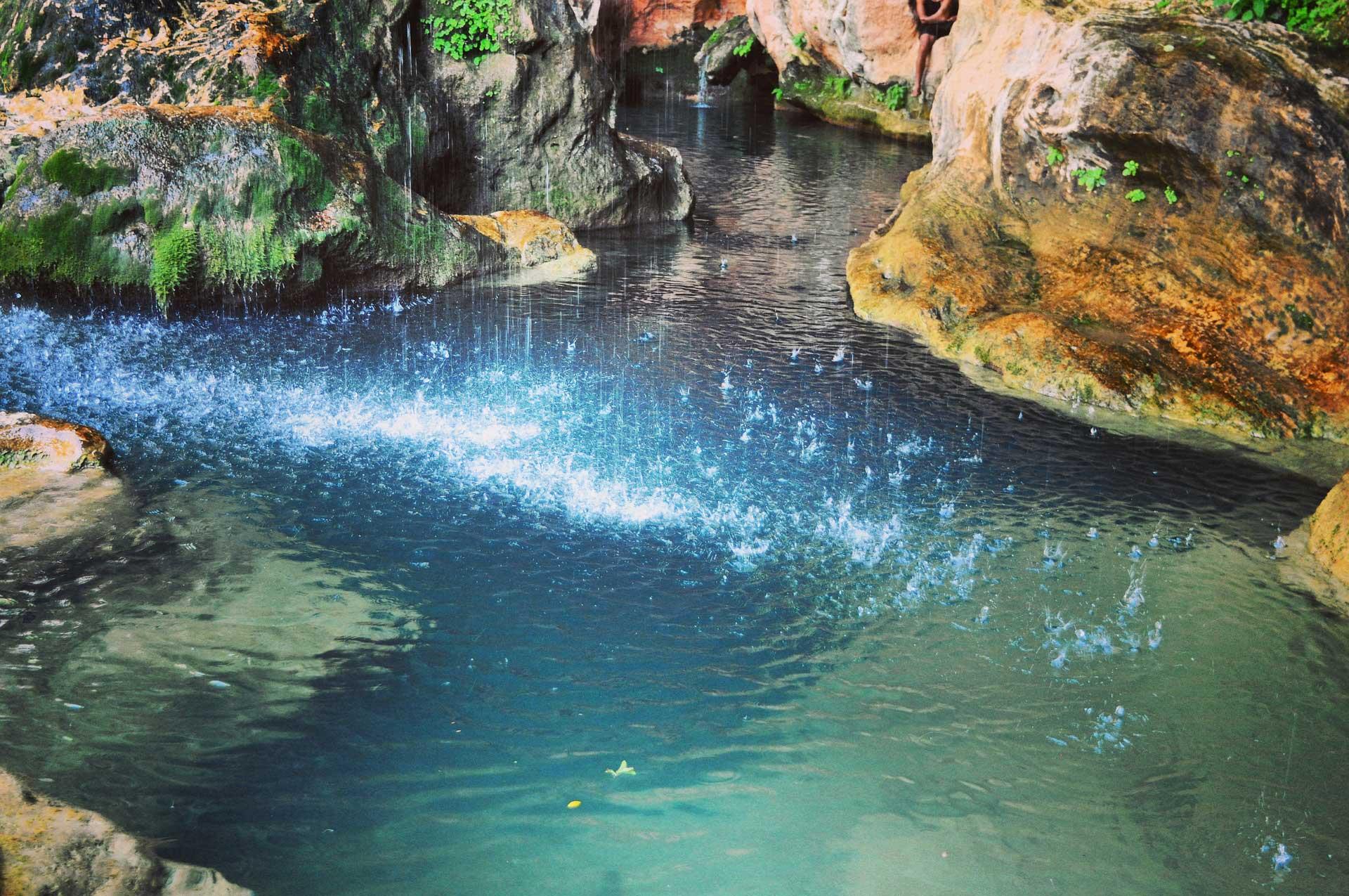 Marokko, Höhle, See
