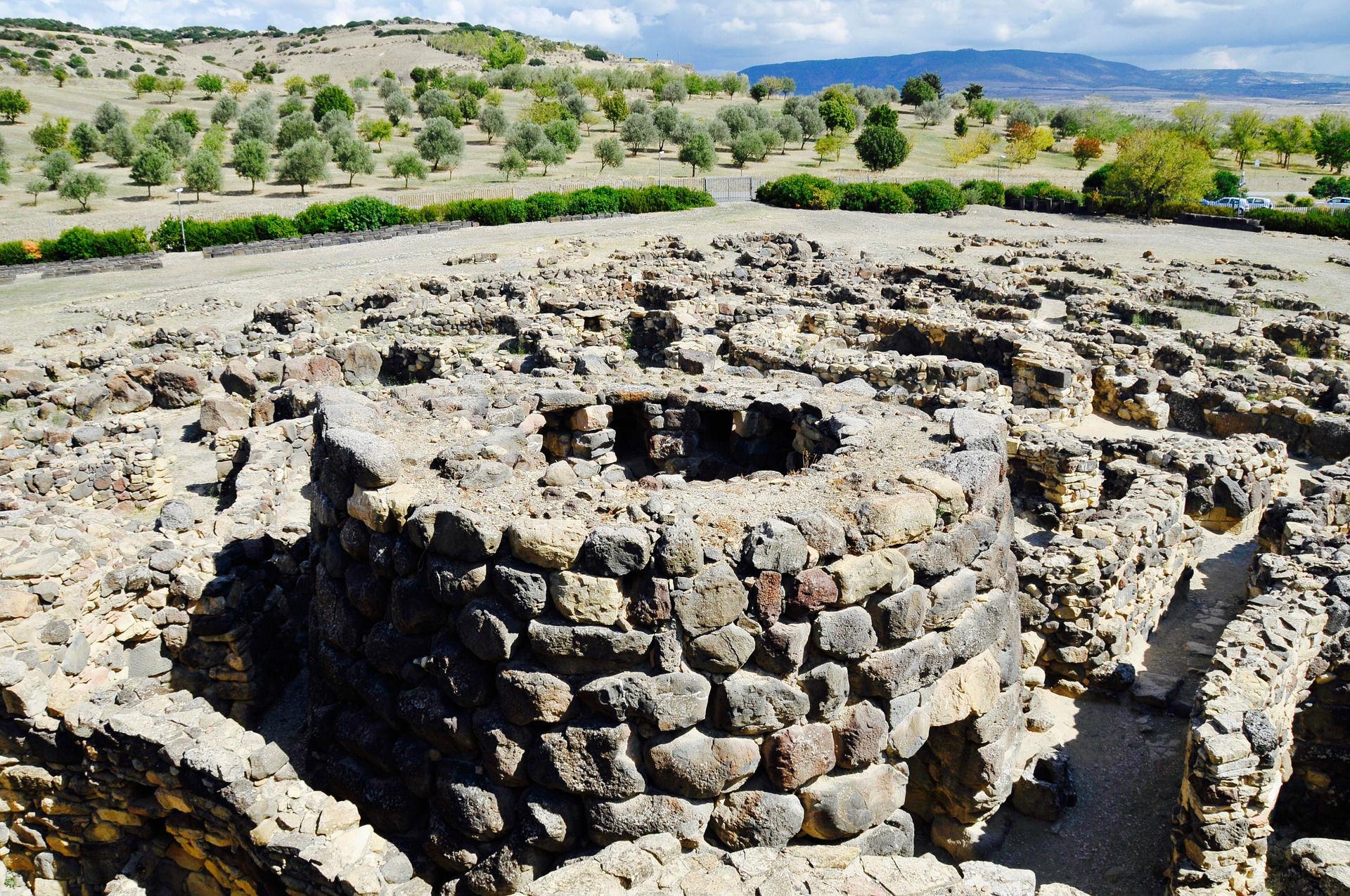 Grabmäler auf Sardinien
