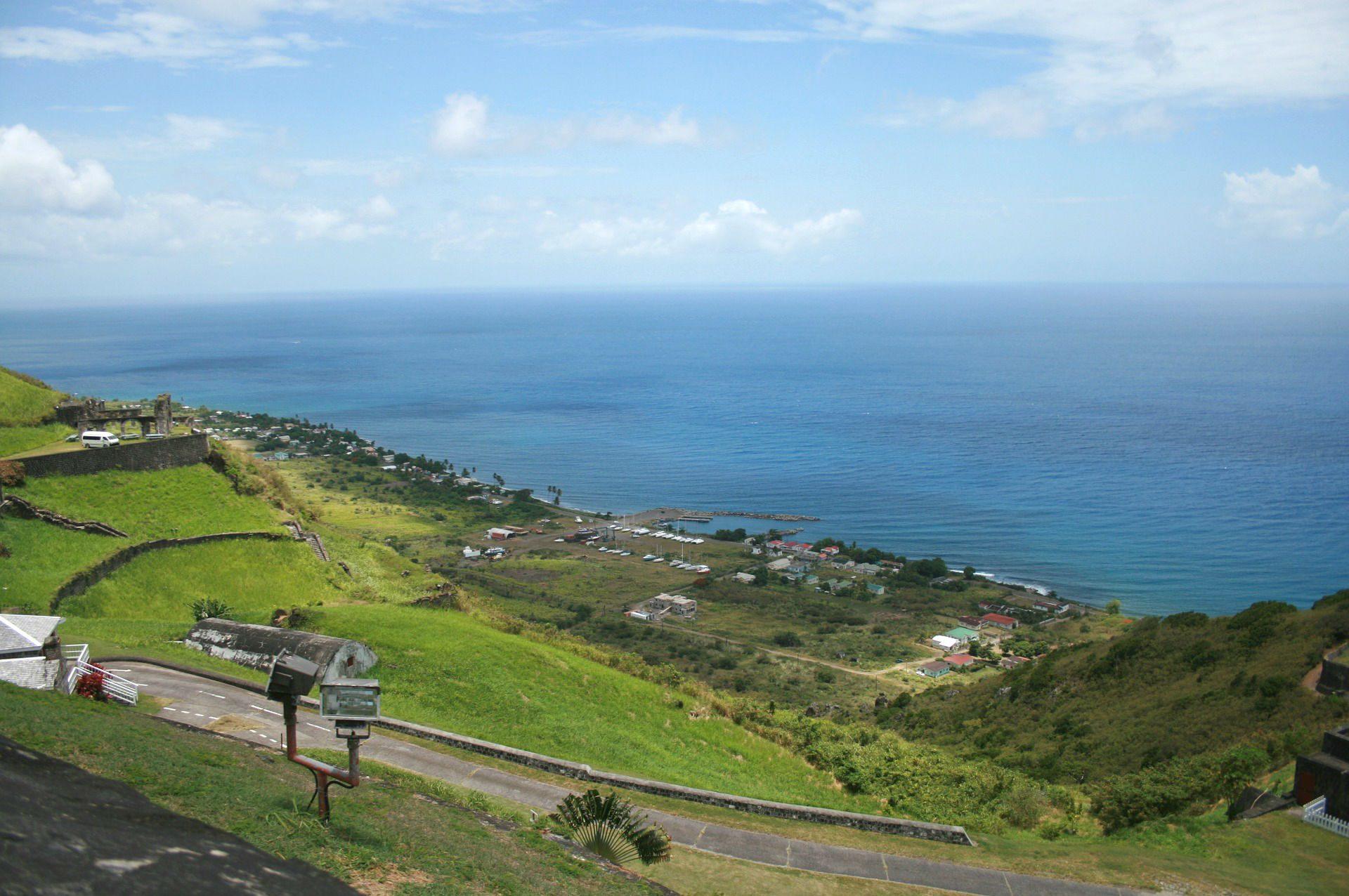 Die karibischen Inseln St. Kitts und Nevis