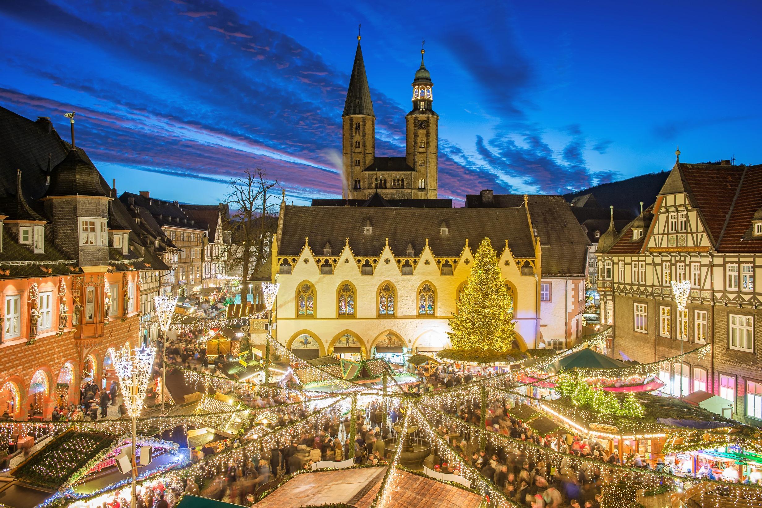 © GOSLAR Marketing GmbH / Fotograf Stefan Schiefer: Der Weihnachtsmarkt in Goslar