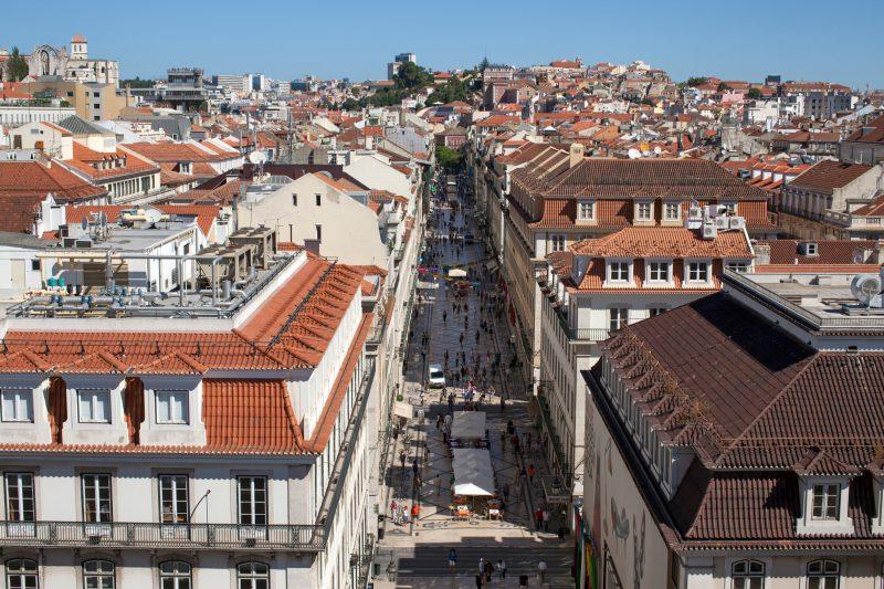 Lissabons Innenstadt