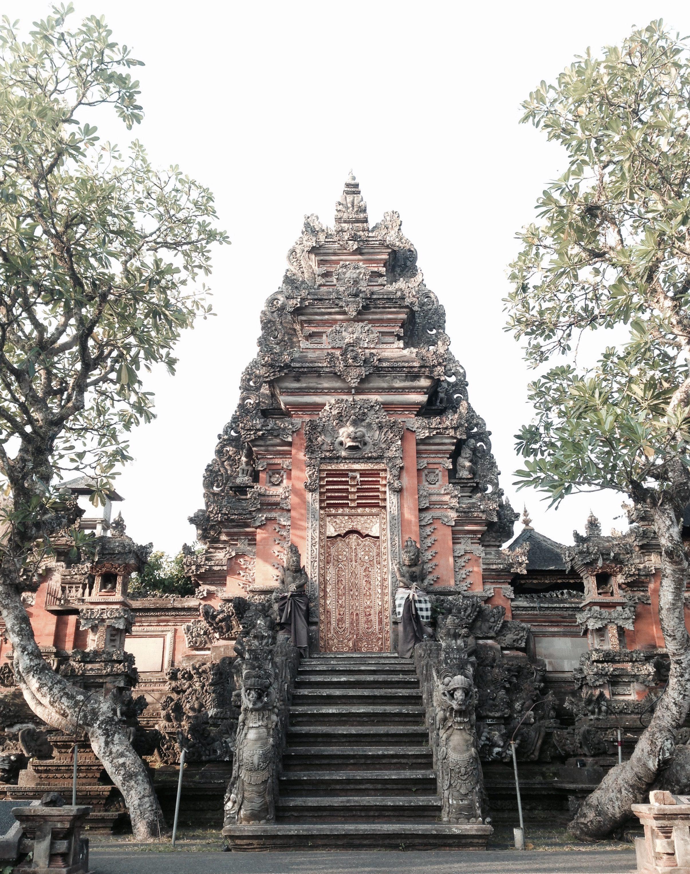 Ein Tempel auf Bali