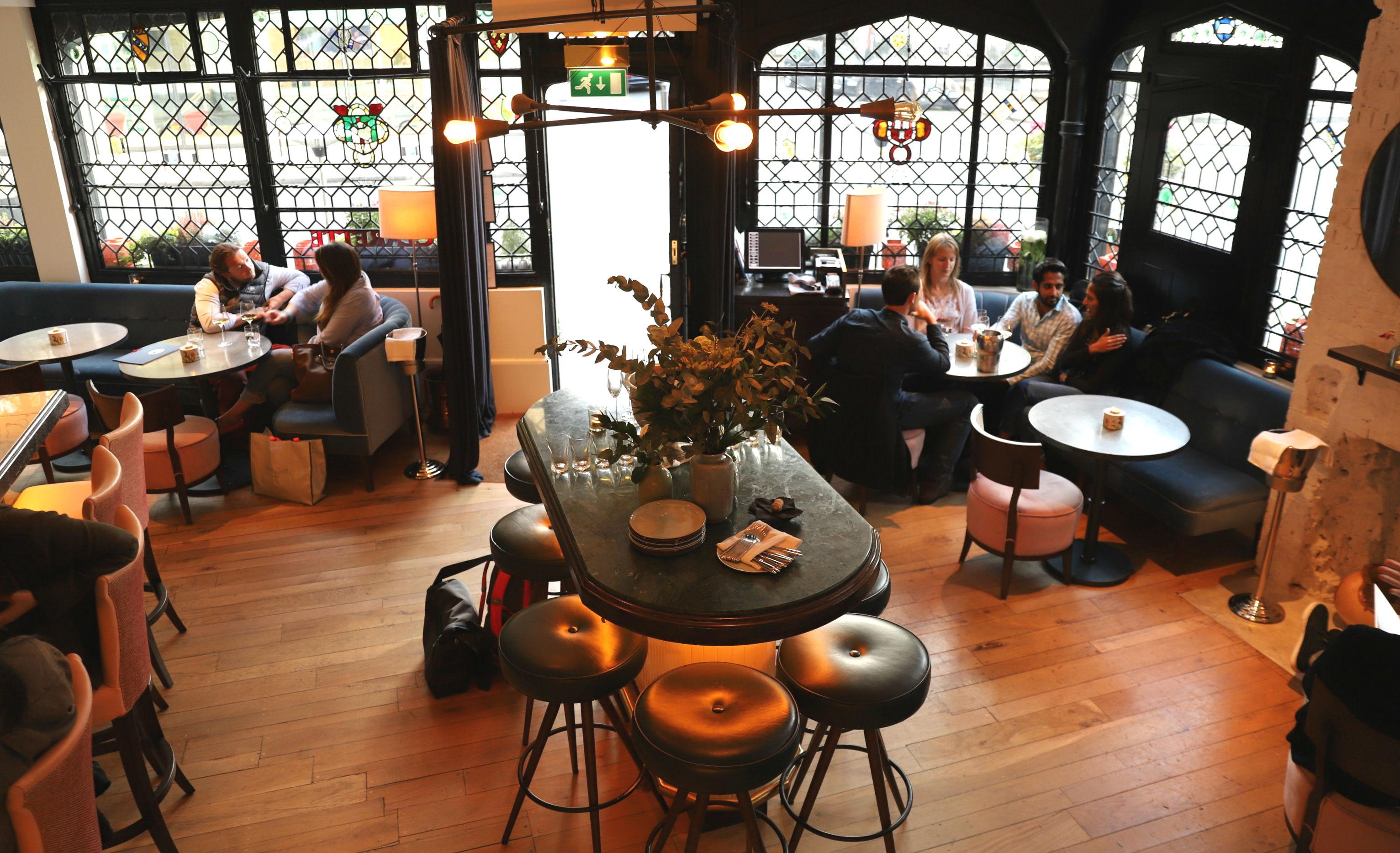 The restaurant Clarette in London